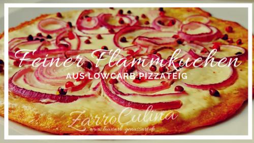 ♡ VomLowcarb Pizzaboden zumfeinenFlammkuchen