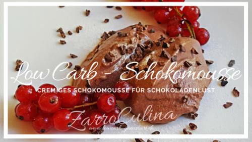 Cremiges Schokomousse für große Schokoladenlust