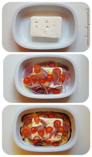 ♡ Duftender weicher Schafskäse aus dem Ofen